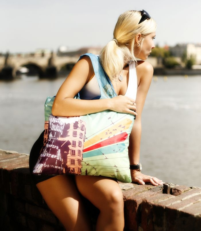 Prague 3 - ecologic bag from ECOZZ #ecozz $9.95
