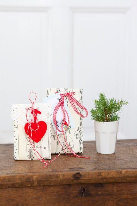 Hildas hem: PYSSELTIPS: Gör egna presentpåsar Paper bags for christmas gifts