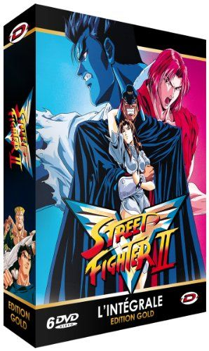 Street Fighter II V - Intégrale - Edition Gold (6 DVD  Livret) @ niftywarehouse.com #NiftyWarehouse #StreetFighter #VideoGames #Gaming
