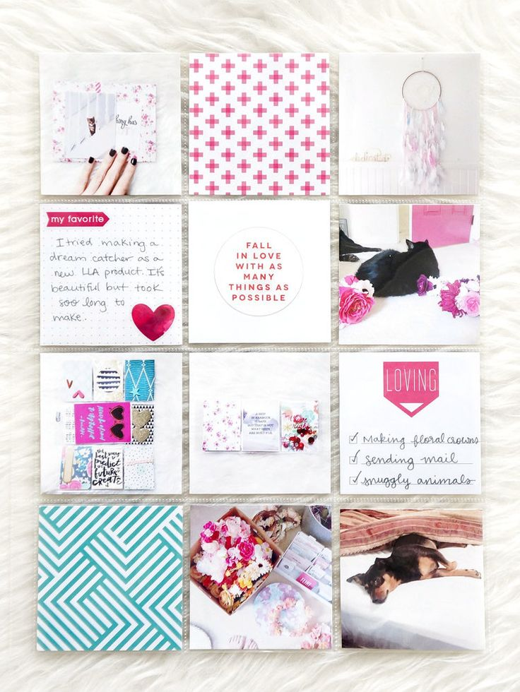 POCKET PAGES™ w/ pops of pink by mambi Design Team member Laura Rahel Crosby…