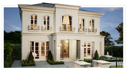 French Provincial Home Designs Country House Plans Images