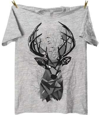 Trapped tee - ideal for christmas