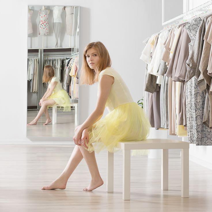 Tiulowa spódnica. Tulle skirt. http://www.bee.com.pl/e-sklep/