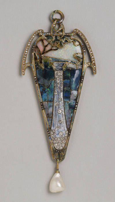 Alphonse Mucha, pendant