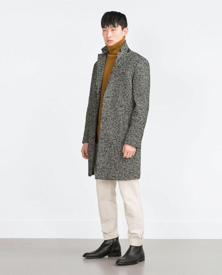17 best ideas about Mens Wool Coats on Pinterest | Wool coat mens ...