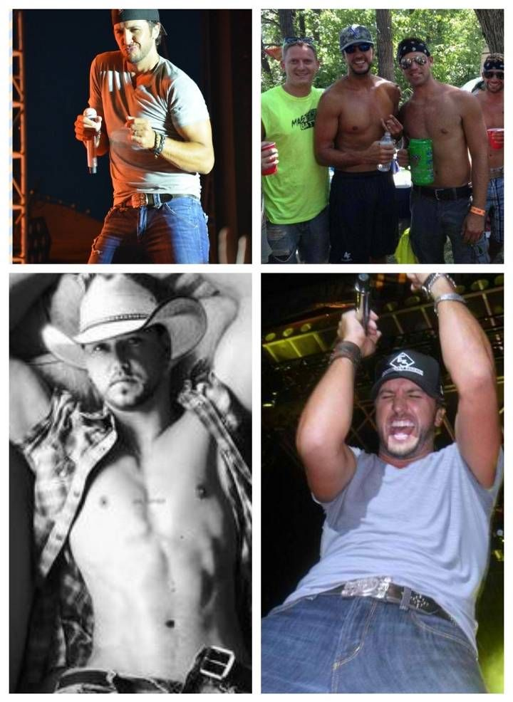 my favorite country boys, Jason Aldean and luke Bryan