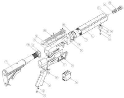 Ruger SR-22 : AR-15 meets the 10/22 - The Firearm Blog
