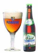 Cerveja Floreffe Blonde, estilo Belgian Blond Ale, produzida por Lefebvre, Bélgica. 6.3% ABV de álcool.
