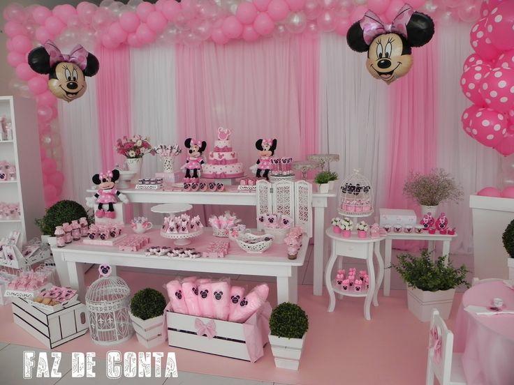 más bolos temáticos de aniversario tortas de minie mouse tortas