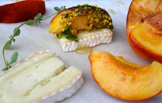 Cheticamp Supper Club: On the Table This Week - Quebec Cheese and Ontario Peaches