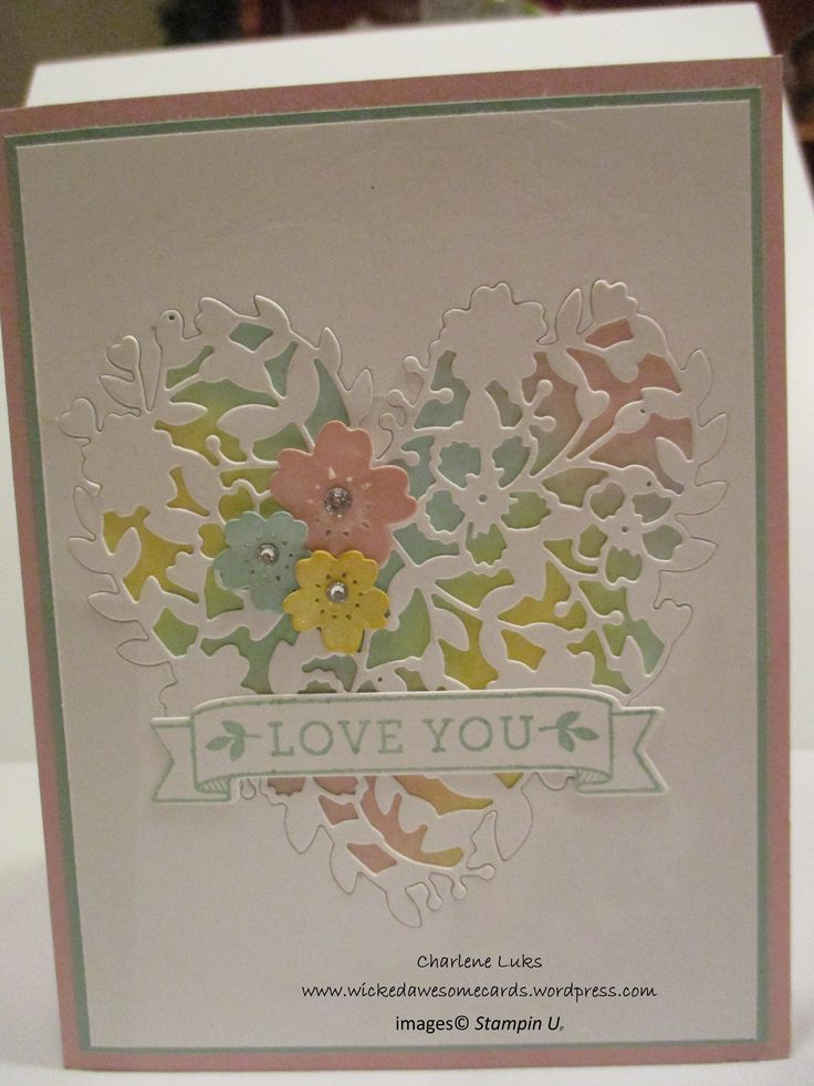 Stampin' Up! Bloomin' Heart