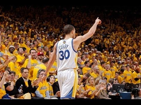 Watch Stephen Curry's amazing 3rd quarter performance against the Denver Nuggets in game four of the western conference first round playoffs. He scored 22 of his 31 points.