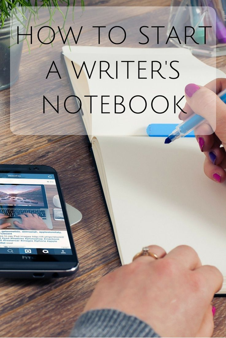 A writer's notebook or inspiration journal is a great way to inspire yourself through quotes, writing prompts, poems, pictures, or really anything else you find interesting.