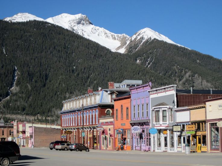 USA - Silverton, CO -  Silverton is a former silver mining camp, most or all of which is now included in a federally designated National Historic Landmark District, the Silverton Historic District. The town population was 531 at U.S. Census 2000.  Rode there on the steam train.