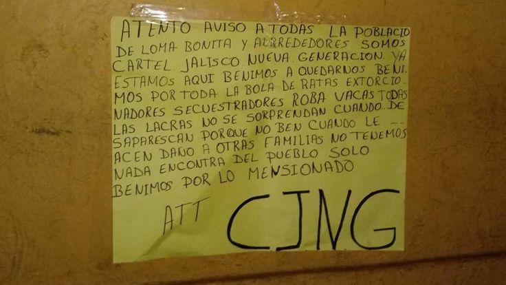 Causa pánico Convoy del Cártel Jalisco Nueva Generación que se pasea armado por calles de Oaxaca | El Puntero