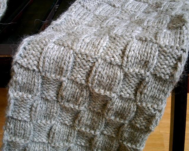 Knitting Basket Weave Stitch Scarf : Basket Weave Stitch Crochet & Knitting Pinterest