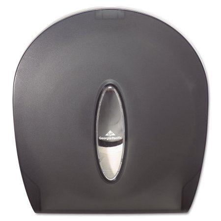 Georgia Pacific Professional Jumbo Jr. Bathroom Tissue Dispenser, 10 3/5x5 39/100x11 3/10, Translucent Smoke, Multicolor