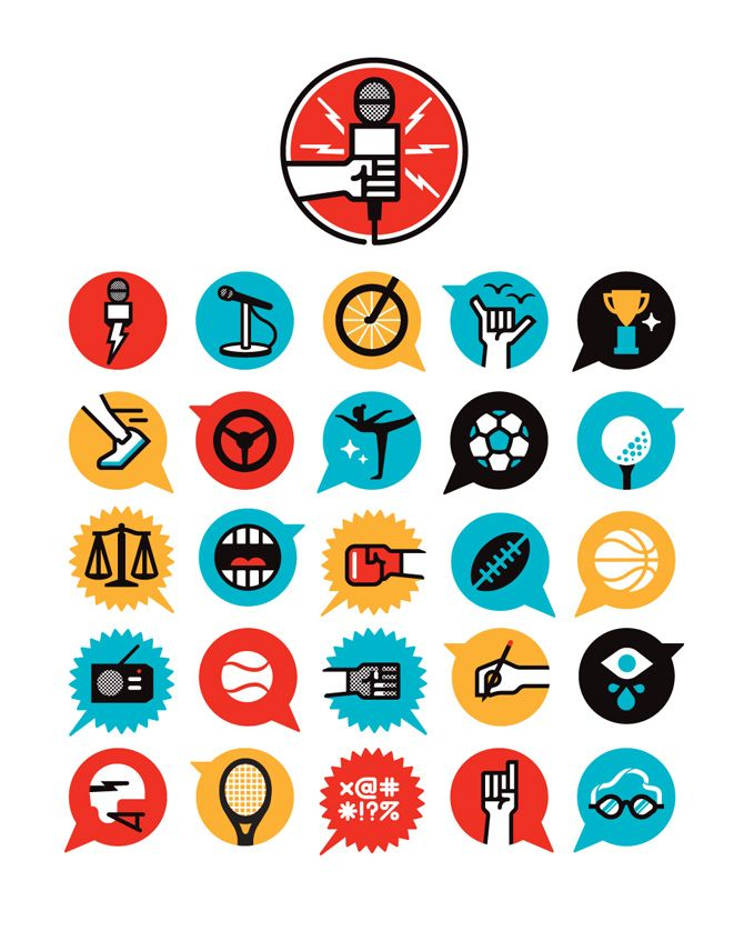 love icons! ESPN Interview Issue - Matt Lehman Studio