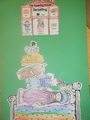 sequence activity Ms. M.'s KG Class: The Napping House