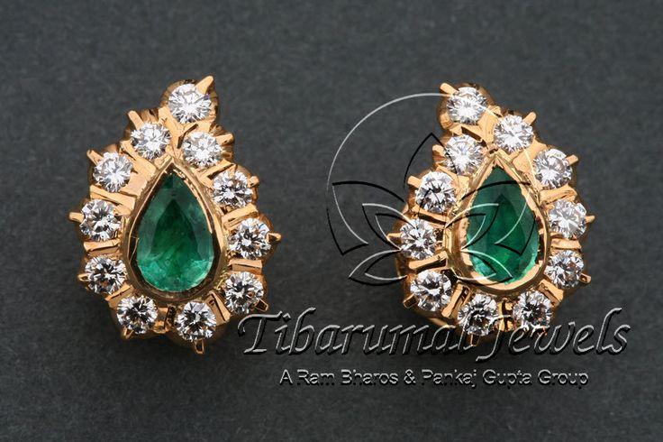 EAR TOPS | Tibarumal Jewels | Jewellers of Gems, Pearls, Diamonds, and Precious Stones