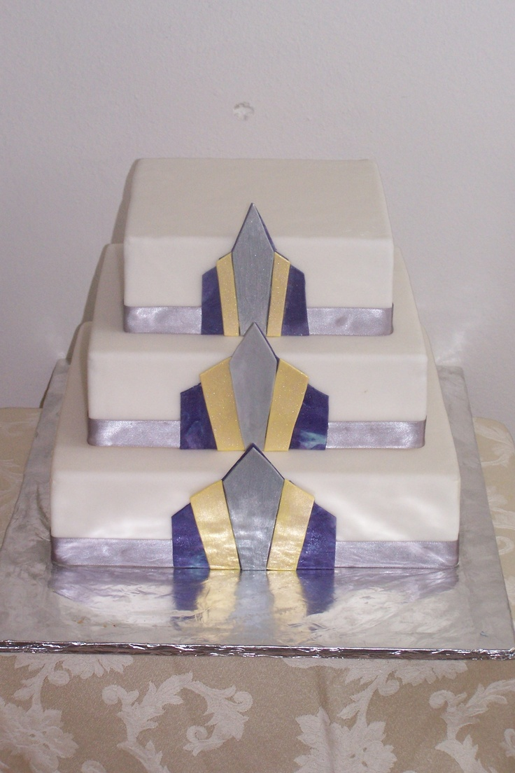 Art Deco Grooms Cake : 22 best images about WEDDING CAKES on Pinterest Gothic ...