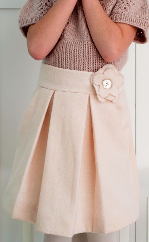 free child's skirt pattern | Sewing: Couture Skirt (Tutorial for a Time...Pattern Always)