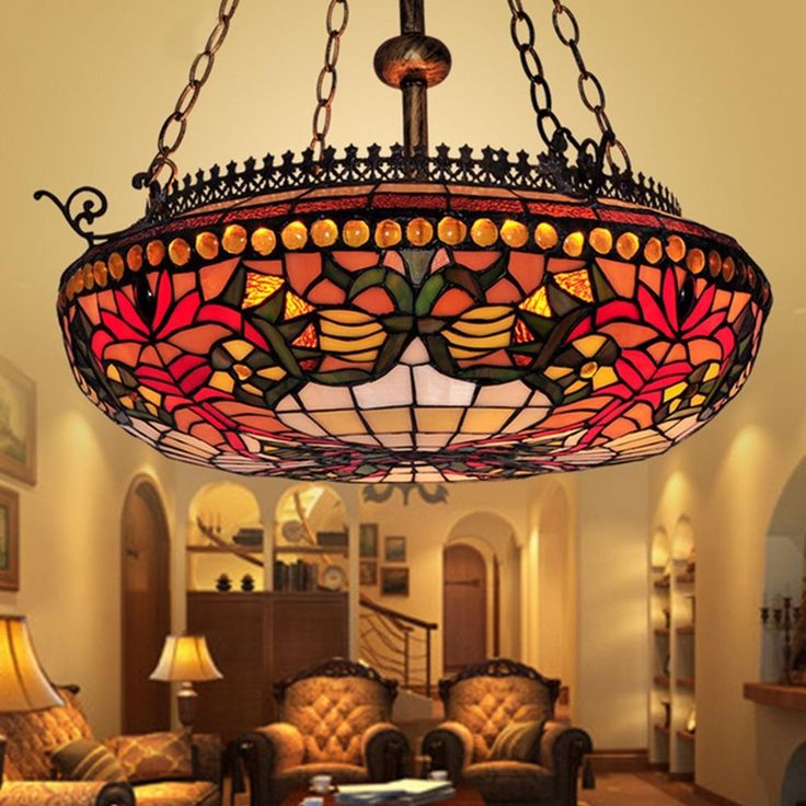 22 best byb vintage tiffany style lamp images on pinterest byb vintage tiffany style fixture chandelier hanging pendant ceiling lamp aloadofball Gallery