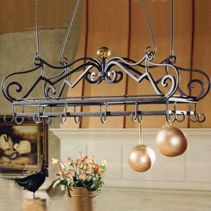 Pot Racks - Selecting the best Pot Rack for your Kitchen is easy with helpful tips from Tuscan Decor.