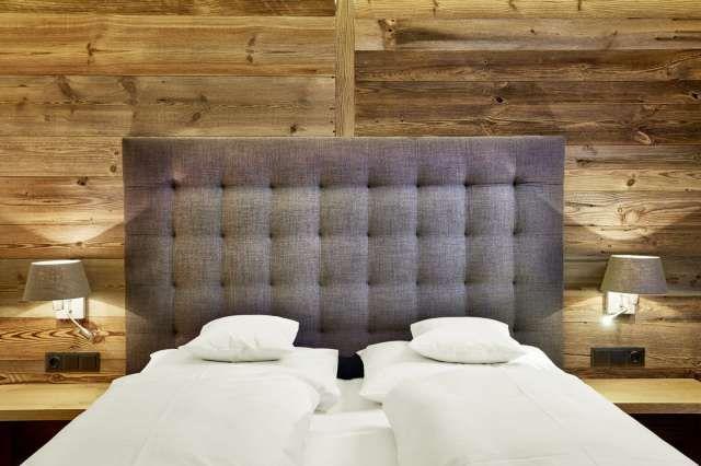 Doppelzimmer im Hotel Der Grüne Baum Ehrwald