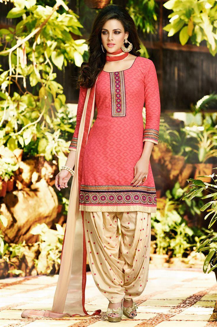 Startling Designer Party Wear Patiala Salwar Suit