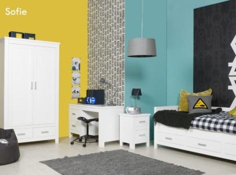 25 beste idee n over tiener slaapkamer kleuren op pinterest for Babykamer sofie bopita
