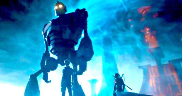 Iron Giant Will Play a Major Role in Ready Player One -- Director Steven Spielberg confirms that the classic character The Iron Giant will have a sizable role in Ready Player One. -- http://movieweb.com/ready-player-one-iron-giant-details-steven-spielberg/