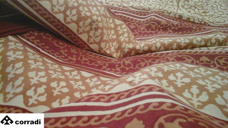 Indian sofa cover By Biemme 100% cotton - handicraft printed Cm. 225 x 305 Color red Price € 100.00 #indian #sofacover #cotton #handicraft