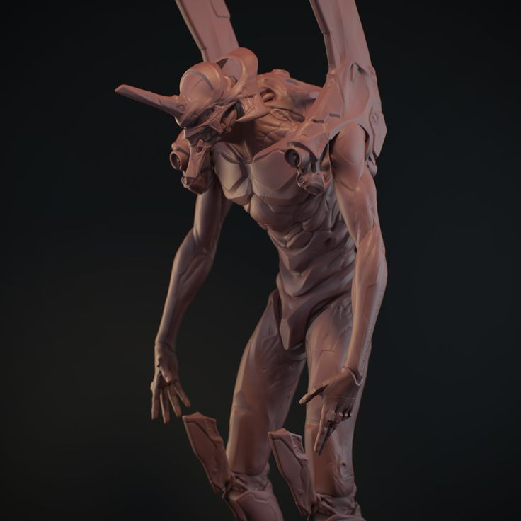 ArtStation - eva-01 old model (2008), Juan Carlos Nunez