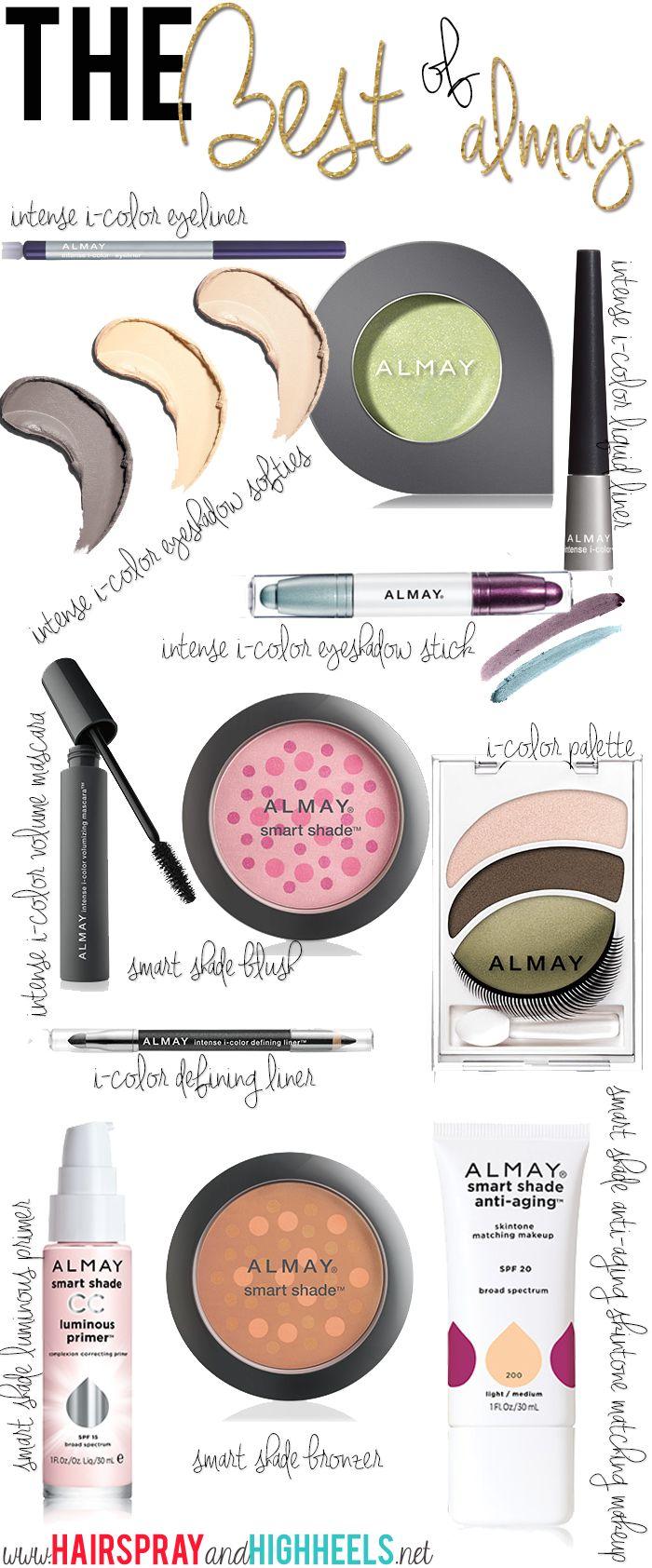 Best Almay Products  via www.hairsprayandhighheels.com