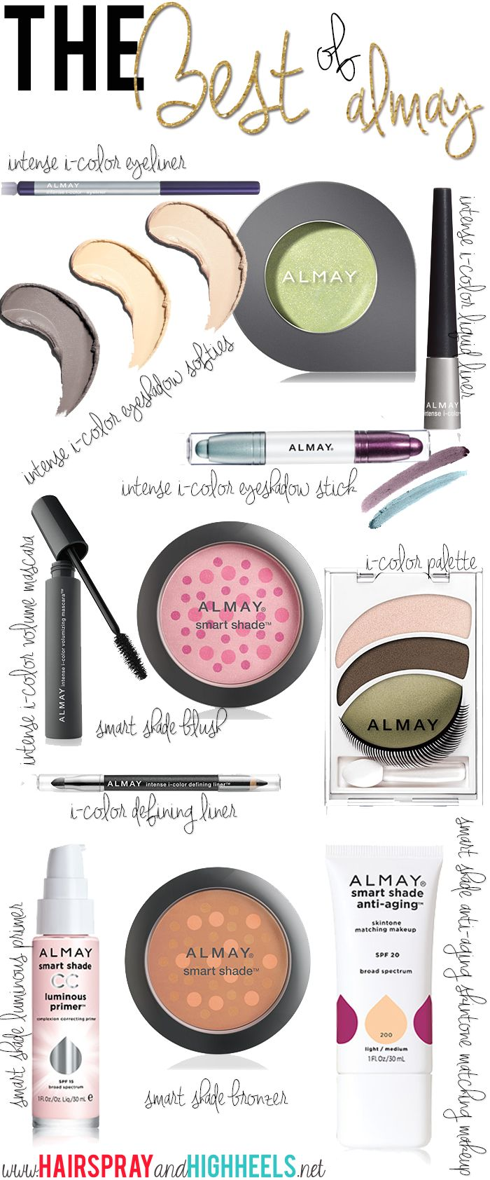 Best Almay Products! #makeup #beauty #naturalmakeuplooks
