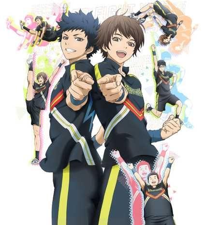 Resultado de imagen de cheer danshi anime wallpaper