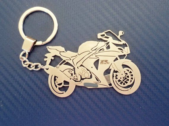 Key Chain Similar To Suzuki Gsxr 1000 Personalized Keychain Bike