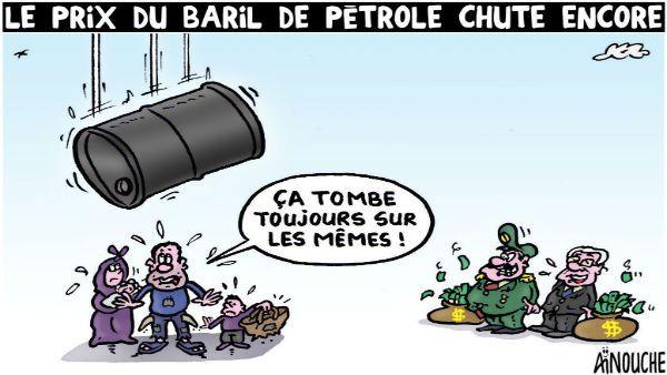 Ainouche (2016-07-26) Le prix du baril de pétrole chute encore, Algérie