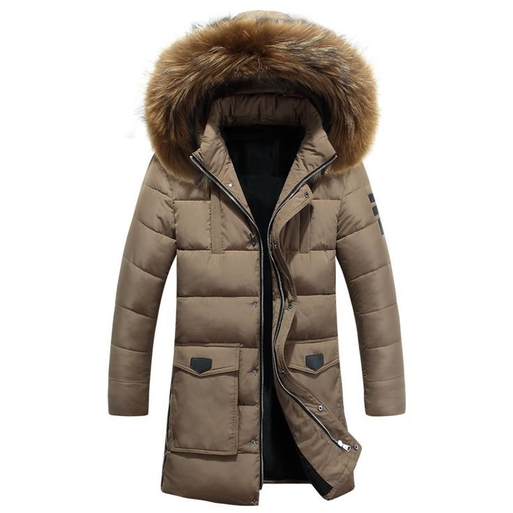 47.49$  Buy here - http://ali82y.worldwells.pw/go.php?t=32765538147 - 2016 New Winter Jacket Men Parkas Long Thermal Warm Male Jacket Detachable Cap Thicken Fur Hood Men Parka Plus Size  47.49$