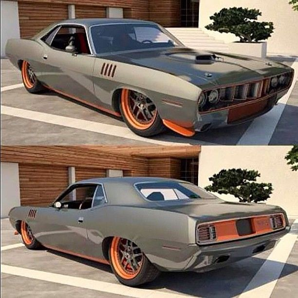 Plymouth Barracuda.....GREAT PIC OF A COOL CAR. CLICK the PICTURE or check out…