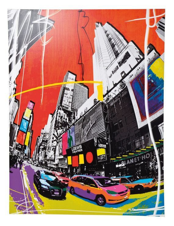 Kare design :: Obraz Pop Art Cities 158x120 cm
