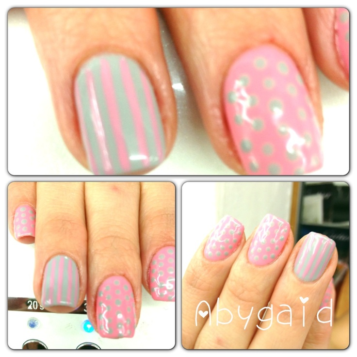Aby nails color rosa mis u 241 as nail decorated in decorated nails