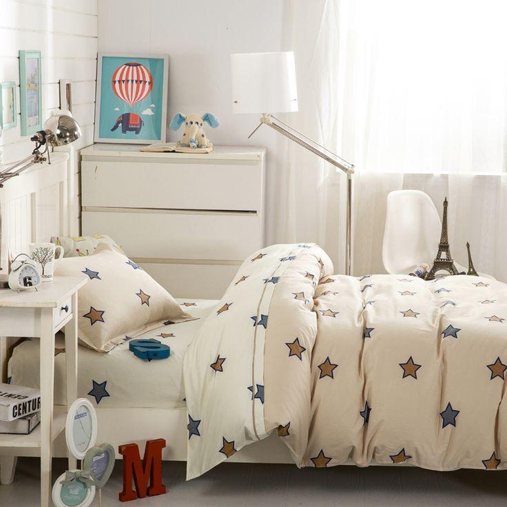 Студенческое общежитие одного из трех частей одеяла постельных принадлежностей хлопка трехсекционных детских постельных принадлежностей 1,2 м