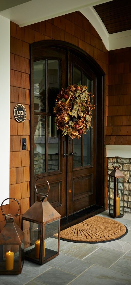 Our Sunburst Coco Door Mats trap dirt at the door with rugged coir.