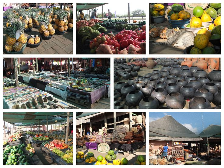 South African market near St Lucia | One Footprint On The World