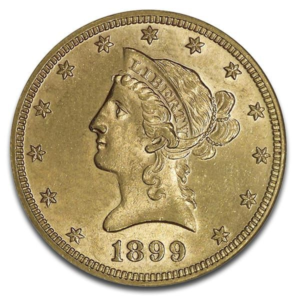 10 U S Liberty Gold Coins These 90 Gold Coins Are Historic Constitutional Money That Once Circulated In America One In 2020 Gold Bullion Coins Gold Coins Coins