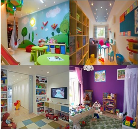 How to Decorate a Preschoolers Playroom #stepbystep