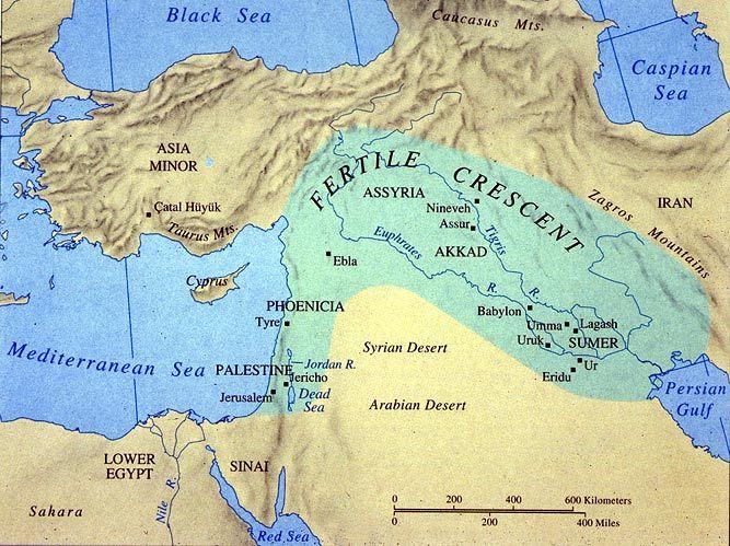 Mesopotamia, Civilization And The Sumerians: The cradle
