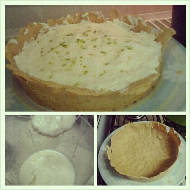 A sobremesa Dukan mais gostosa: torta de limão ou torta mousse   À la Dukan